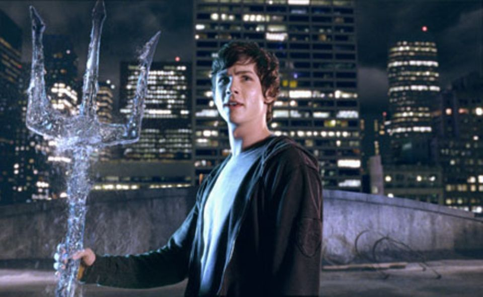 Percy Jackson (Logan Lerman) ist der Sohn des Meeresgottes Poseidon