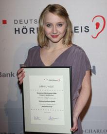 Ebenfalls schon Hörfilm-firm: Anna Maria Mühe
