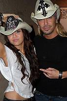 Miley Cyrus, Bret Michaels