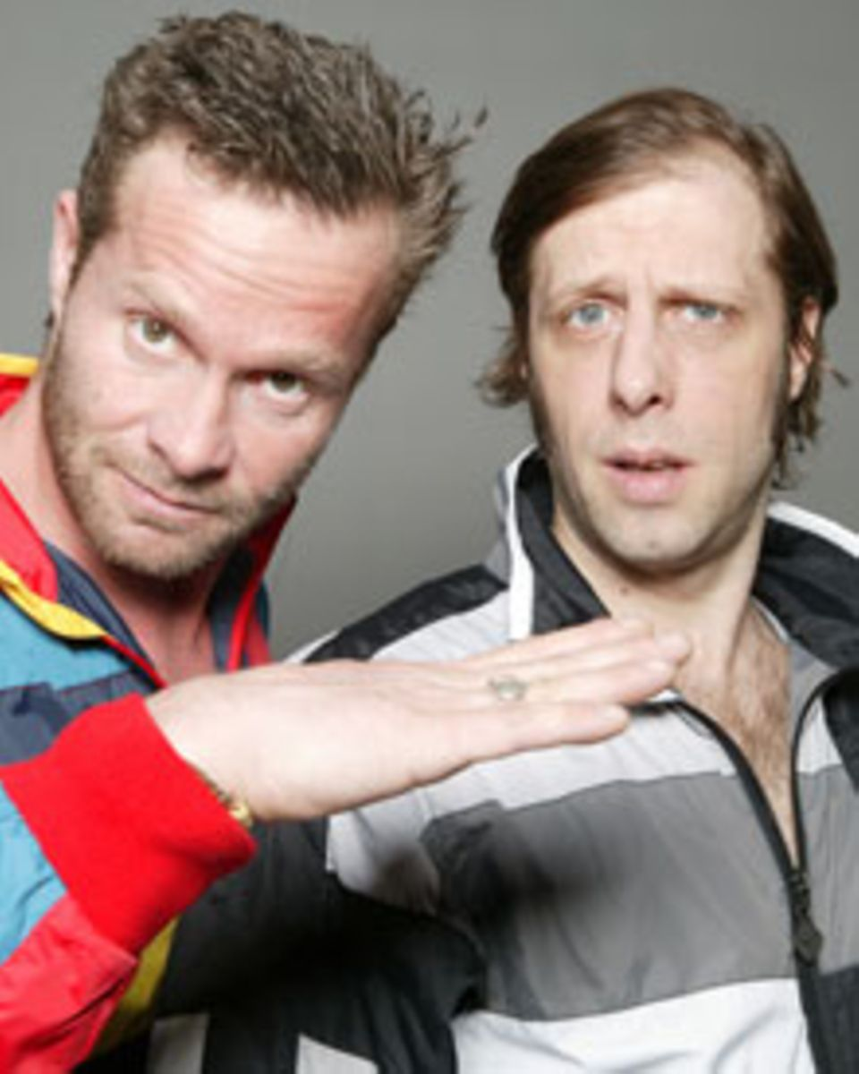 Dreamteam: Als DJ-Duo feierten Oliver Korittke und Sven Ruttkowski Erfolge.