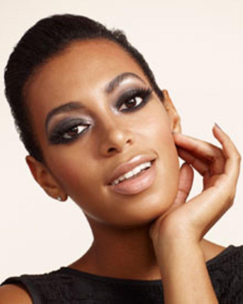 Immer für einen neuen Trend zu haben: Solange Knowles.