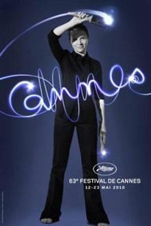 Das offizielle Plakat für die 63. Filmfestspiele von Cannes zeigt Juliette Binoche.