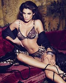 Gekonnt geräkelt: Elisabetta Canalis zeigt sich als Model für Roberto Cavalli in der aktuellen Dessous-Kampagne.
