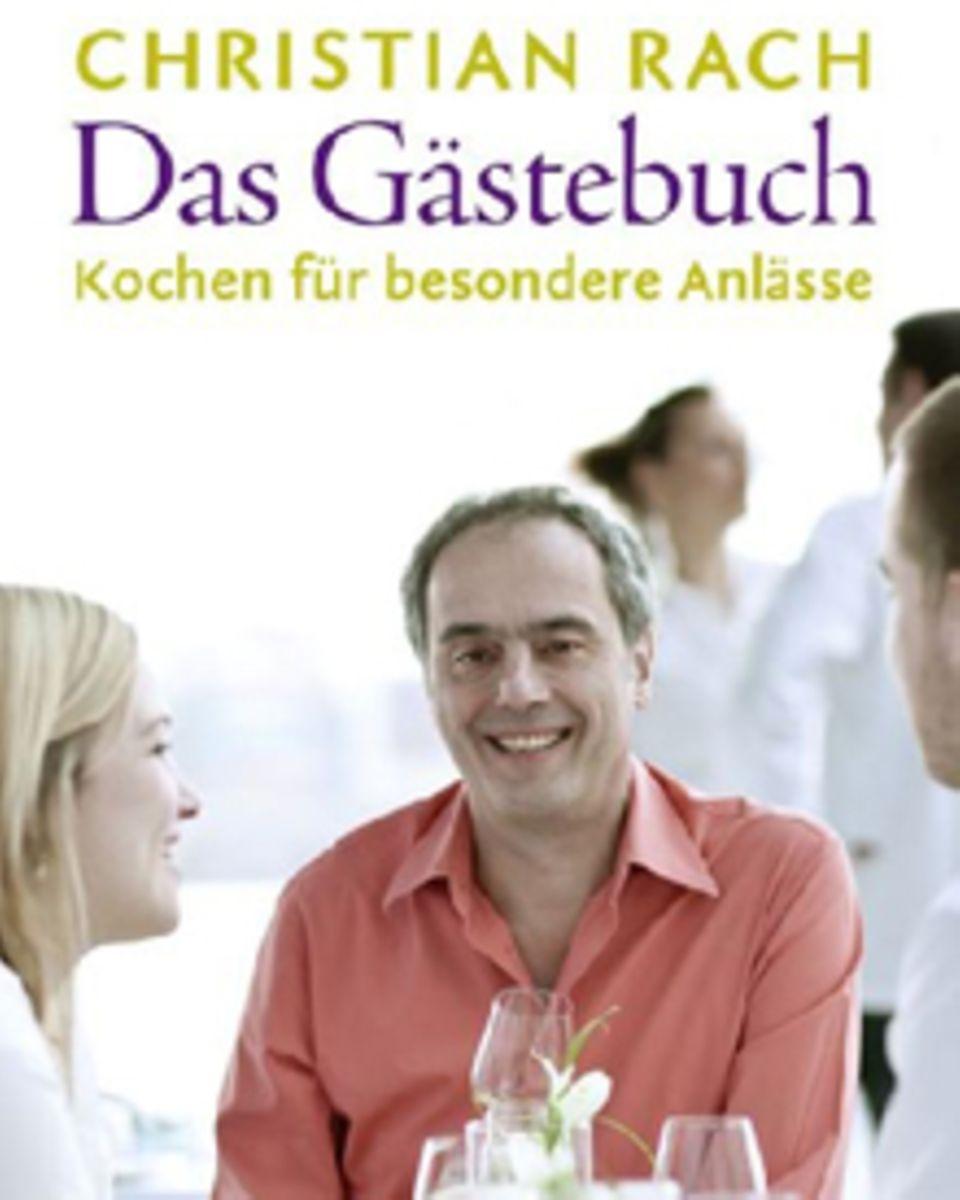 """Christian Rach zeigt in seinem Buch, wie man Freunde kulinarisch verwöhnt. (""""Das Gästebuch. Kochen für besondere Anlässe"""", Edel,"""