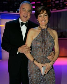 Der beliebte Schweizer Fernsehmoderator mit seiner Frau Paola.