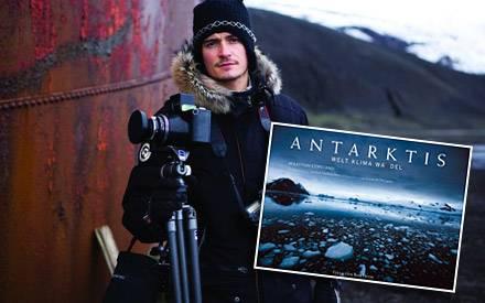 """Orlando Bloom begleitete seinen Cousin Sebastian Copeland in die Antarktis. Mehr fantastische Bilder gibt es im Bildband """"Antark"""