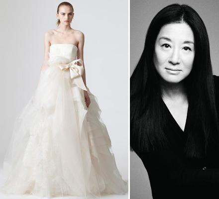 """Kleid von Star-Designerin Vera Wang """"Im Trend liegt alles was Romantik, jugendlichen Charme und Weiblichkeit versprüht"""""""