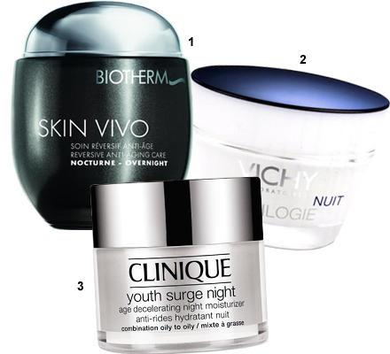"""Diese drei übernehmen die Vorbereitungen, während die Braut schläft: 1 """"Skin Vivo Reversive Anti-Aging Care"""" von Biotherm, 50 ml"""