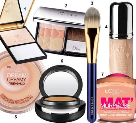 Die richtige Grundlage: Wichtig ist, dass eine Frau muss sich mit ihrem Make-up wohl fühlt.