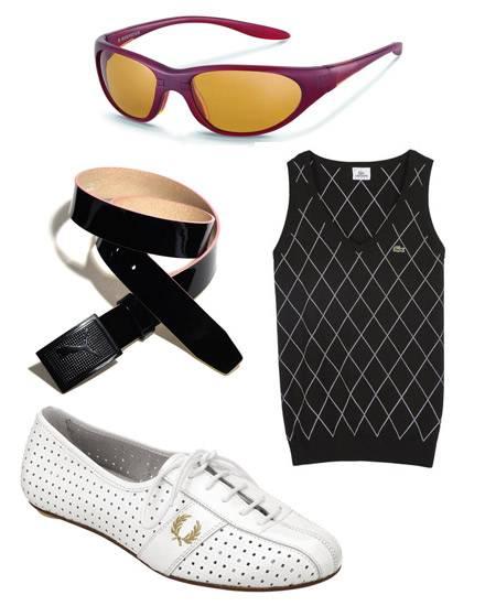 Golfern wird gern ein Hang zu klassischen, konservativen Outfits nachgesagt. Dass es auch modischer geht, zeigen diese besondere