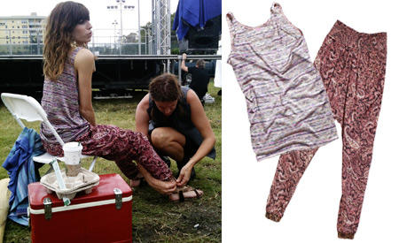 Givenchy-Muse Lou Doillon konnte für die neue H&M-Kampagne als Model gewonnen werden - der lässig abgewrackte Festivalstyle pass