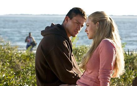 """Ganzer Kerl, große Gefühle: Channing Tatum mit Amanda Seyfried in """"Das Leuchten der Stille""""."""