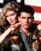 Tom Cruise und Kelly McGillis