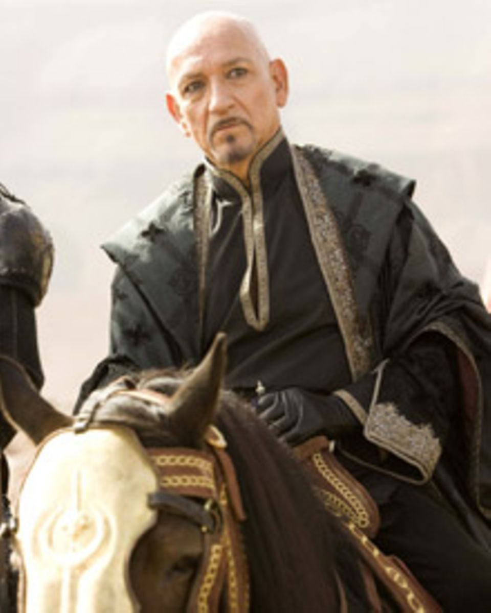 Ben Kingsley hat als Onkel Nizam geheime Pläne - und Freunde unter den Assasinen.