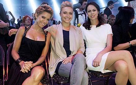 Sylvie van der Vaart, Hayden Panettiere und Natalie Klitschko hatten zusammen Spaß.