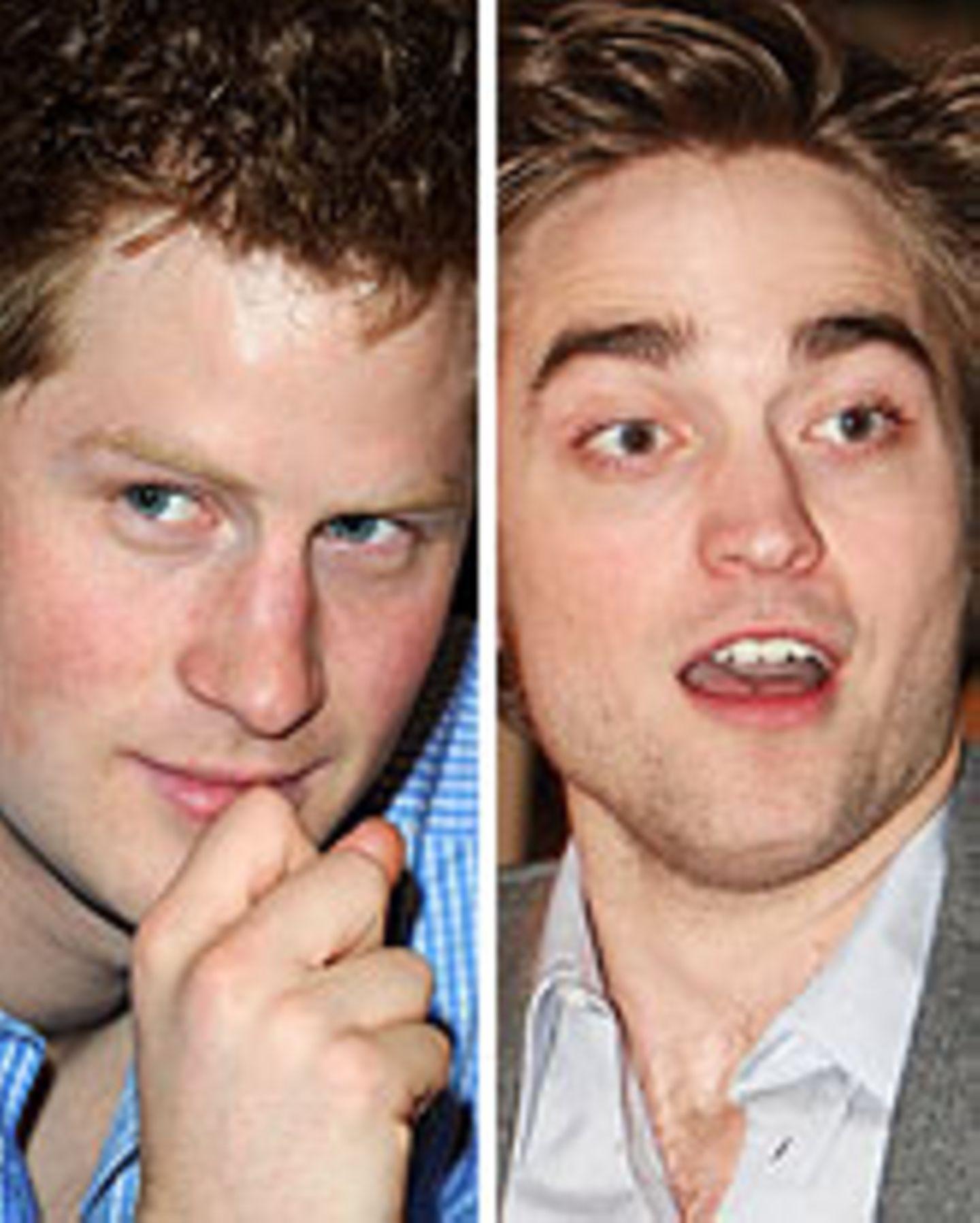 Prinz Harry, Robert Pattinson