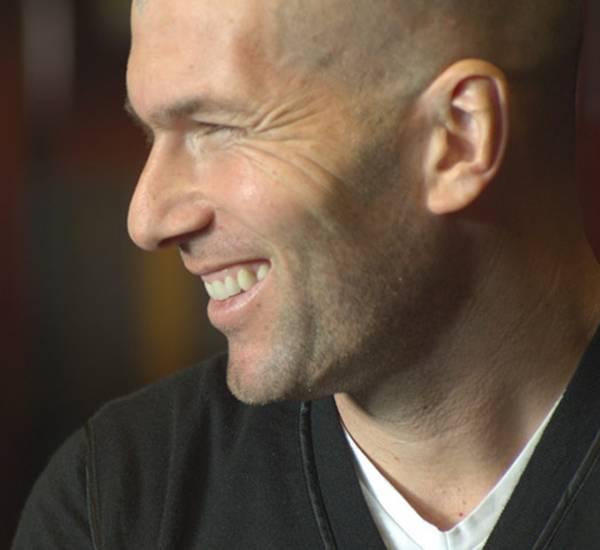 Hat sichtlich Spaß: Zinédine Zidane