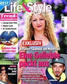 """In der aktuellen Ausgabe der """"Life & Style"""" berichtet Parnaz über die angebliche Affäre mit Mehrzad Marashi."""