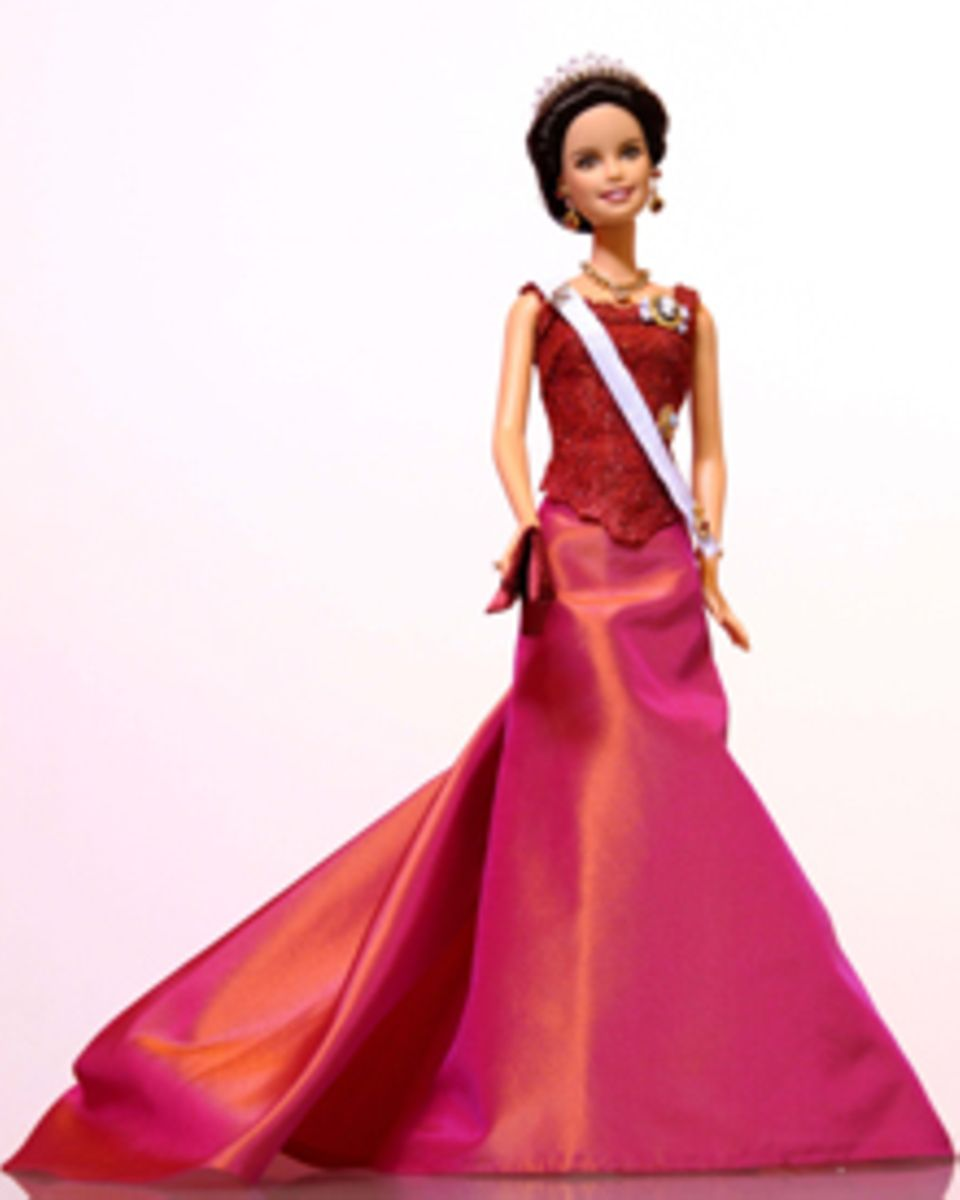 """Die """"Kronprinzessin Victoria von Schweden Barbie"""" ist noch bis zum 20. Juni im Stockholmer Shopping-Center Nordiska Kompaniet zu"""