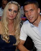 Lukas Podolski, Monika