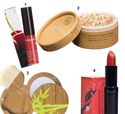 Naturfans schwören auf Mineral-Make-Up.
