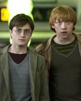 "Daniel Radcliffe, Rupert Grint in ""Harry Potter 7 - 1"""
