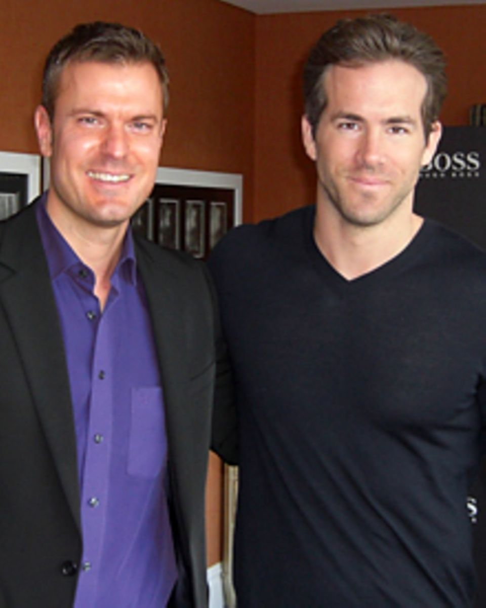 "Gala-Redakteur Alexander Nebe traf Ryan Reynolds zum Gespräch im Londener ""Soho""-Hotel."
