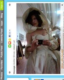 MIlla Jovovich präsentiert den ersten Entwurf ihres Mylady-de-Winter-Kostüms via Twitter.