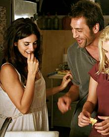 """Nicht erst in Woody Allens """"Vicky Cristina Barcelona"""" (2008) flogen zwischen Penélope Cruz und Javier Bardem die Funken"""