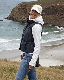 Sophie Schütt geht in Neuseeland auf Tuchfühlung mit der Natur.