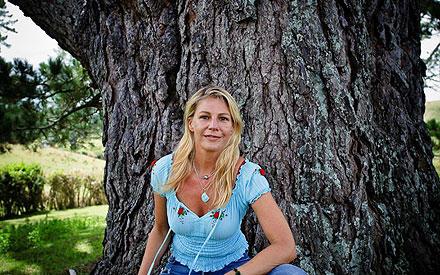 Sophie Schütt: Anfang 2010 veerbrachte sie bereits ein paar Wochen in Neuseeland - für Dreharbeiten.