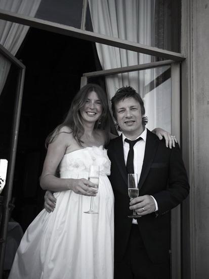 """Dieses Bild teilten Jools und Jamie Oliver per """"Twitter"""" mit ihren Fans."""