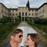 Brad Pitt, Angelina Jolie, Villa Costanza