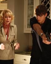 """Katherine Heigl + Ashton Kutcher in """"Kiss & Kill"""""""