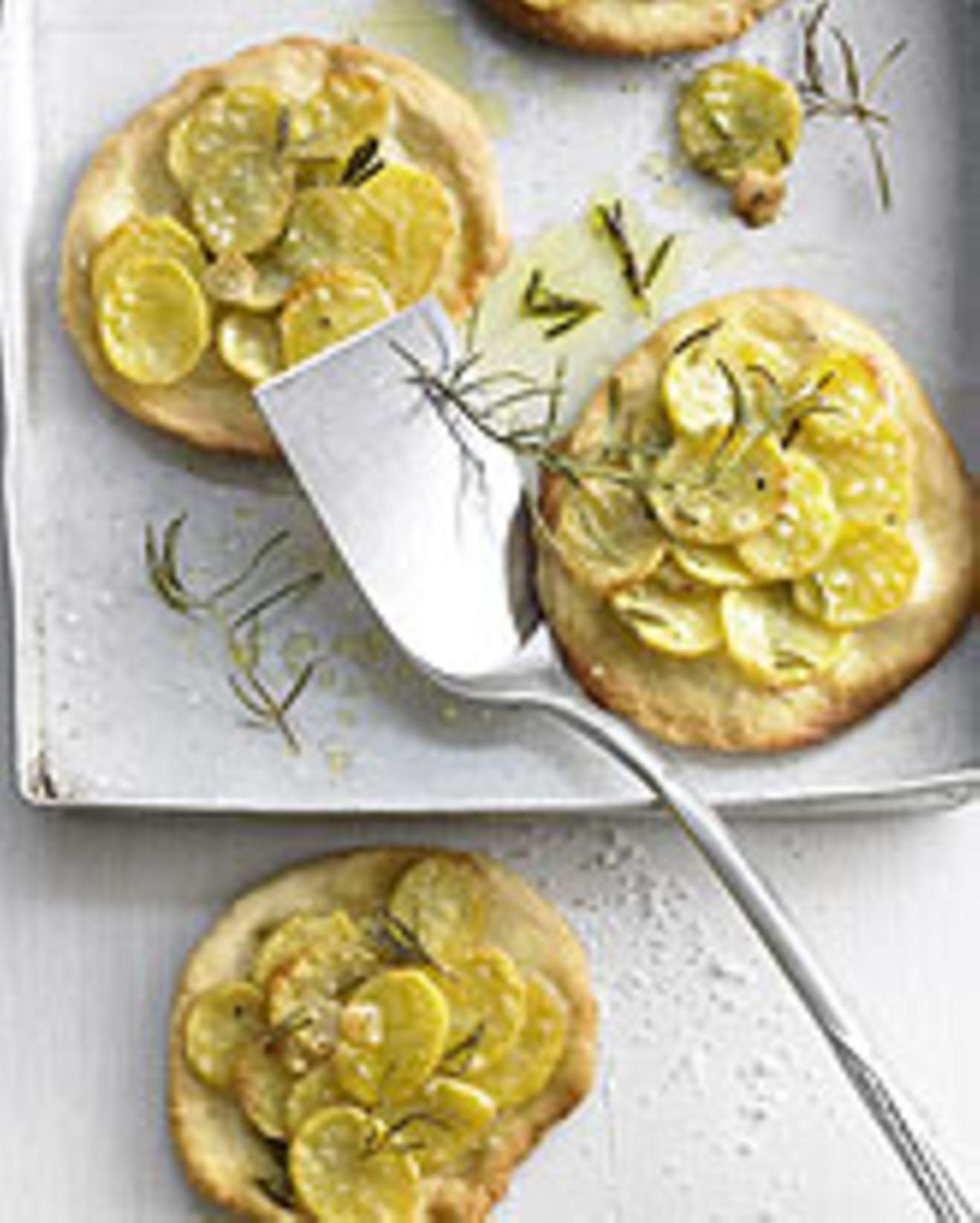 Kartoffel-Rosmarin-Pitzzette