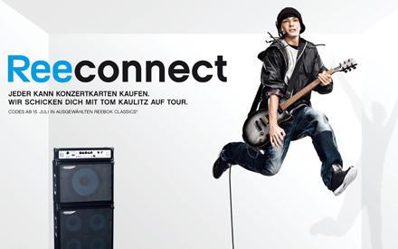 In der Werbekampagne mit Reebok zeigt Tom Kaulitz sich von seiner sportlichen Seite.