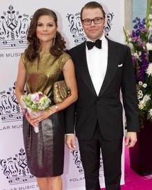 Prinzessin Victoria und Prinz Daniel beim gemeinsamen Auftritt in Stockholm.