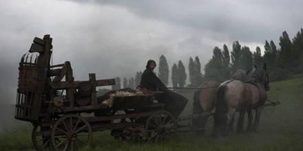 Folterkammer auf Rädern: Die christlichen Ritter kommen gut gerüstet.
