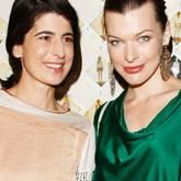 Dorothee Schumacher, Milla Jovovich