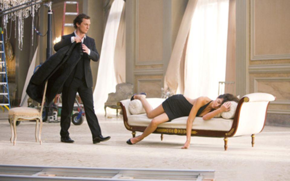 """Matthew McConaughey in der Kampagne für Dolce & Gabbanas """"The One Gentleman""""."""