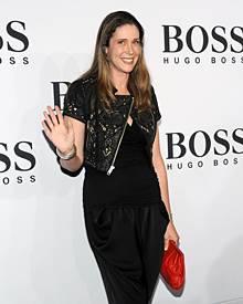 Die Gräfin bei der Mercedes-Benz Fashion Week in Berlin im Juli dieses Jahres.