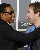 Jay-Z, Chris Martin