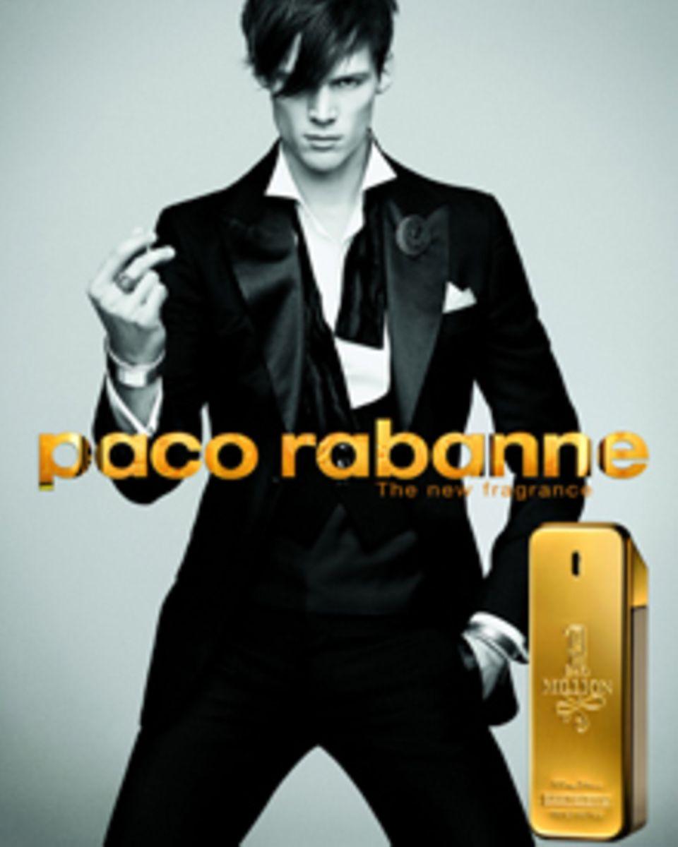 """Der Herrenduft """"1 Million"""" von Paco Rabanne, ist sowohl ein Objekt der Begierde als auch ein Designerobjekt."""