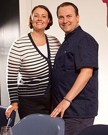"""Tim Raue hat gerade mit Gattin Marie-Anne das """"Restaurant Tim Raue"""" in Berlin eröffnet."""
