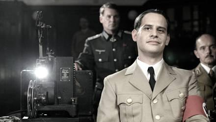 """Moritz Bleibtreu spielt in """"Film ohne Gewissen"""" Reichspropagandaleiter Joseph Goebbels. Kinostart ist am 23. September."""