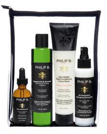 """Mit dem """"Four Step Hair and Scalp Facial Treatment Kit"""" begann die Erfolgsgeschichte von Philip B."""