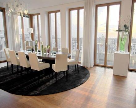 Die Residenz am Pariser Platz in Berlin bietet einen traumhaften Blick auf die Stadt.