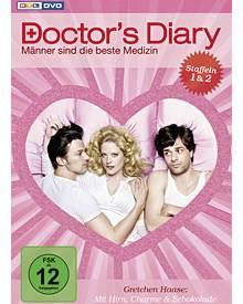 """Eine DVD-Box mit den ersten beiden Staffeln der RTL-Serie """"Doctor's Diary – Männer sind die beste Medizin"""" ist soeben erschienen"""