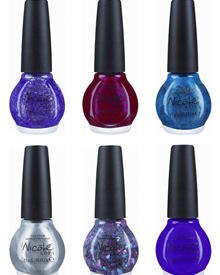 """Das sind die ersten sechs Nagellack-Farben der """"One Less Lonely Girl""""-Linie von Justin Bieber und """"Nicole By Opi""""."""