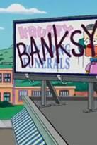 Banksy für Simpsons